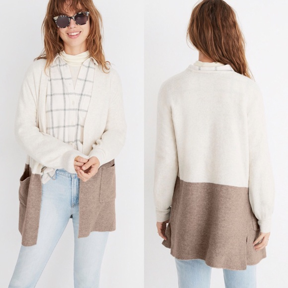 012d72e46d8 Kent Colorblock Cardigan Sweater in Coziest Yarn